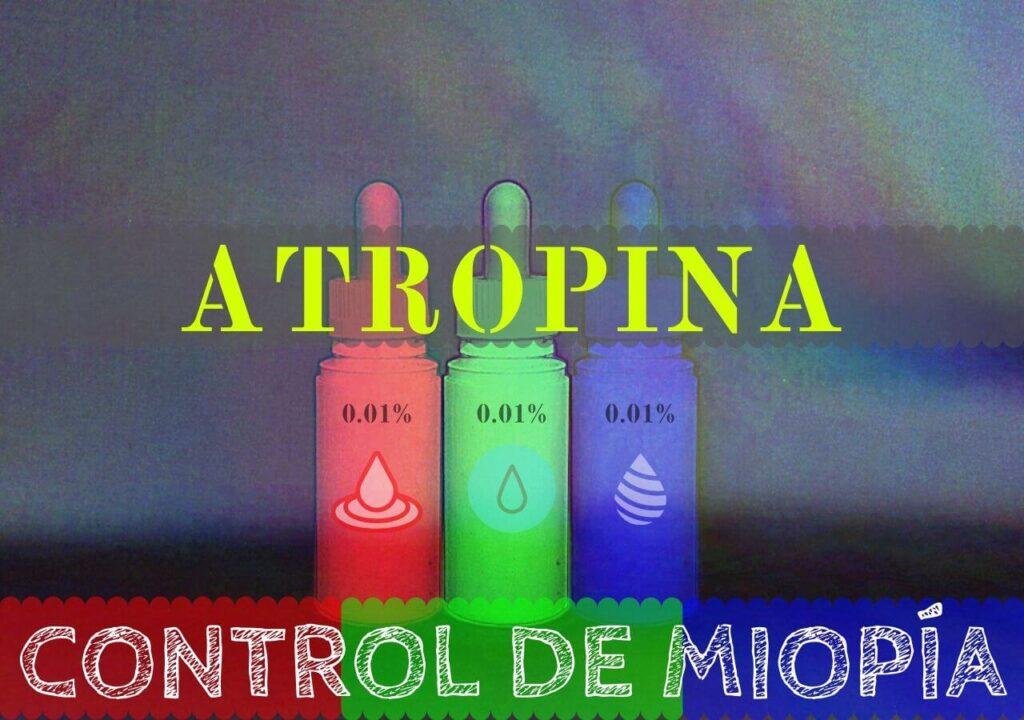 La Atropina es una medicación que se ha mostrado eficiente en el control de la miopía se han estudiado 3 formatos