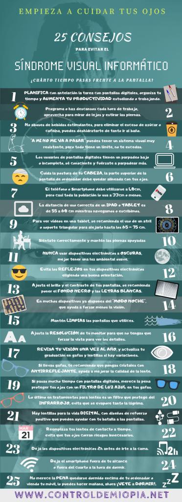 25 maneras de proteger tus ojos del sindrome visual informático o la fatiga digital