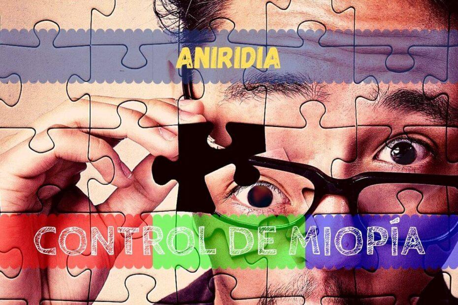 Cómo tratar la aniridia congénita e infantil con gafas y lentillas