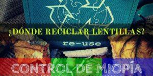 DONDE RECICLAR LENTILLAS BANNER
