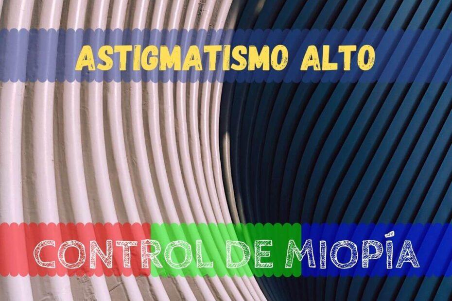 Banner astigmatismo alto