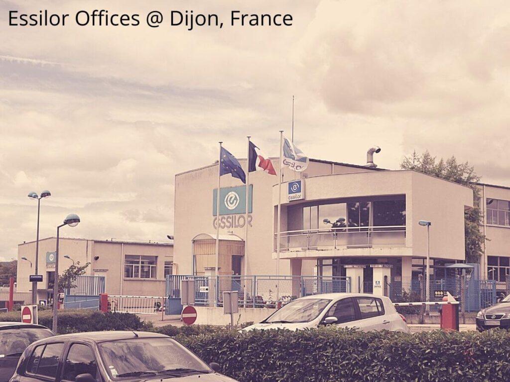 Las oficinas de Essilor en Francia tienen unas amplias instalaciones, ya que proceden de este país.