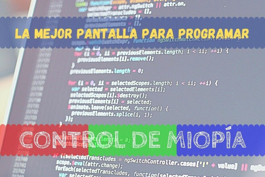 Banner - La mejor pantalla para programar